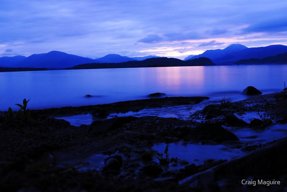 Loch Lomond Nightscape by Craig Maguire