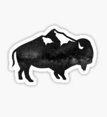 Buffalo Wild Sticker