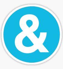 Ampersand Sticker
