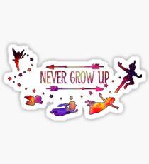 To Neverland Sticker