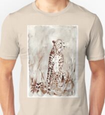 The Cheetah (Acinonyx jubatus)  Unisex T-Shirt