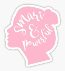 Smart and Powerful Sticker