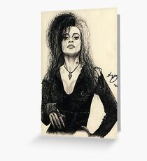 Bellatrix Lestrange Greeting Card