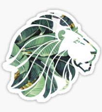 ADPi Lion Palm Leaves Sticker