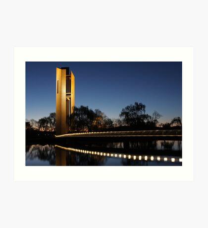 National Carillon, Canberra Art Print