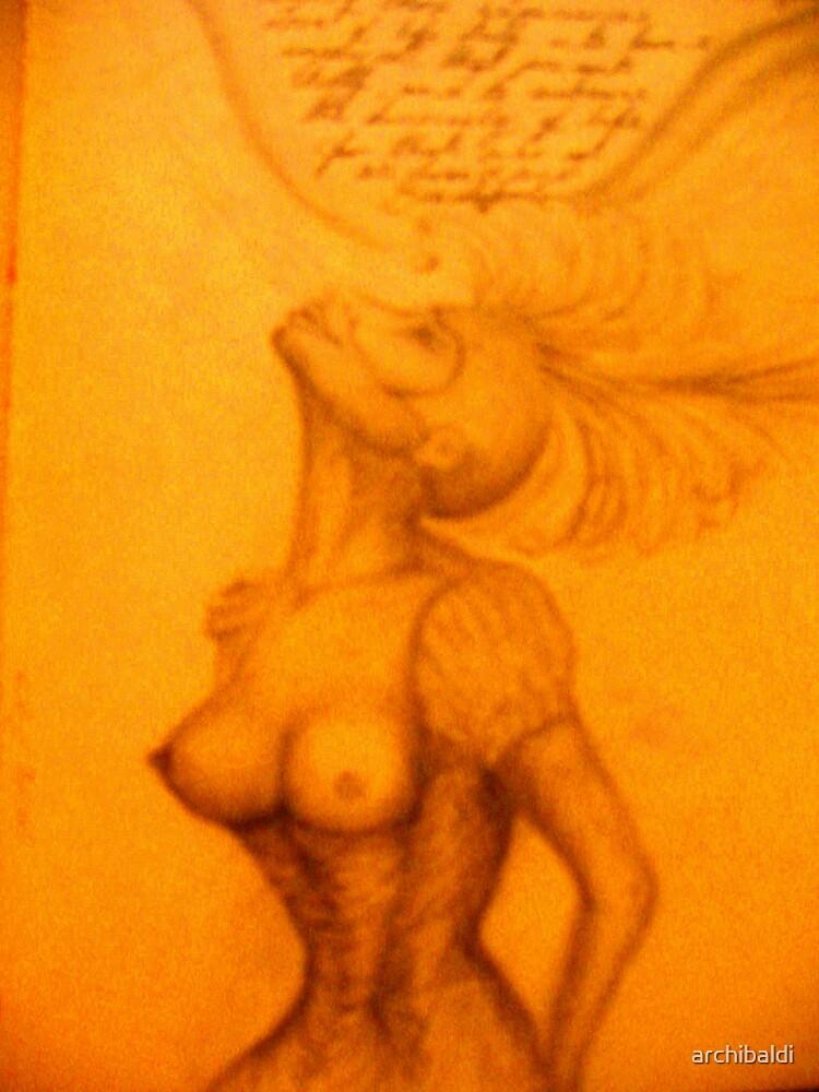 She breathed a dream by archibaldi