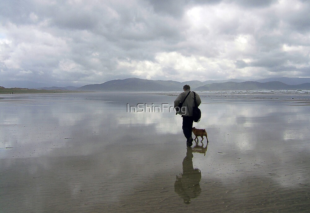 One Man and his Dog by InShinFrog