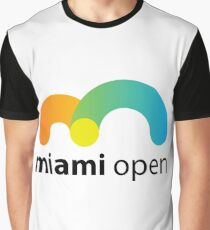 Miami Open 2017 Tennis Graphic T-Shirt