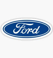 Ford Motors Logo Sticker, T-Shirt, and More Sticker