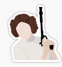 Leia Organa Sticker