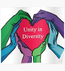 unity in diversity poster
