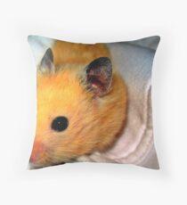 Hampster Throw Pillow