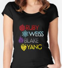 Team RWBY Women's Fitted Scoop T-Shirt