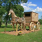 World's Largest Horse And Buggy by Jack Ryan