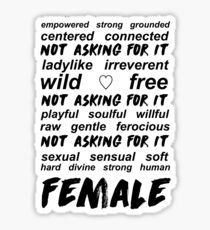 Ariana Grande - Feminist Interlude  Sticker