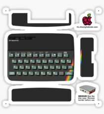 Sinclair ZX Spectrum 48K Skin for the Official case [Get the MEDIUM size] Sticker