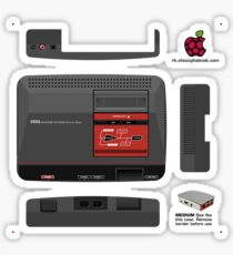 Sega Master System Skin for the Official case [Get the MEDIUM size] Sticker