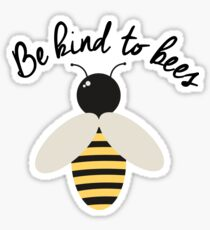 Be Kind to Bees Sticker