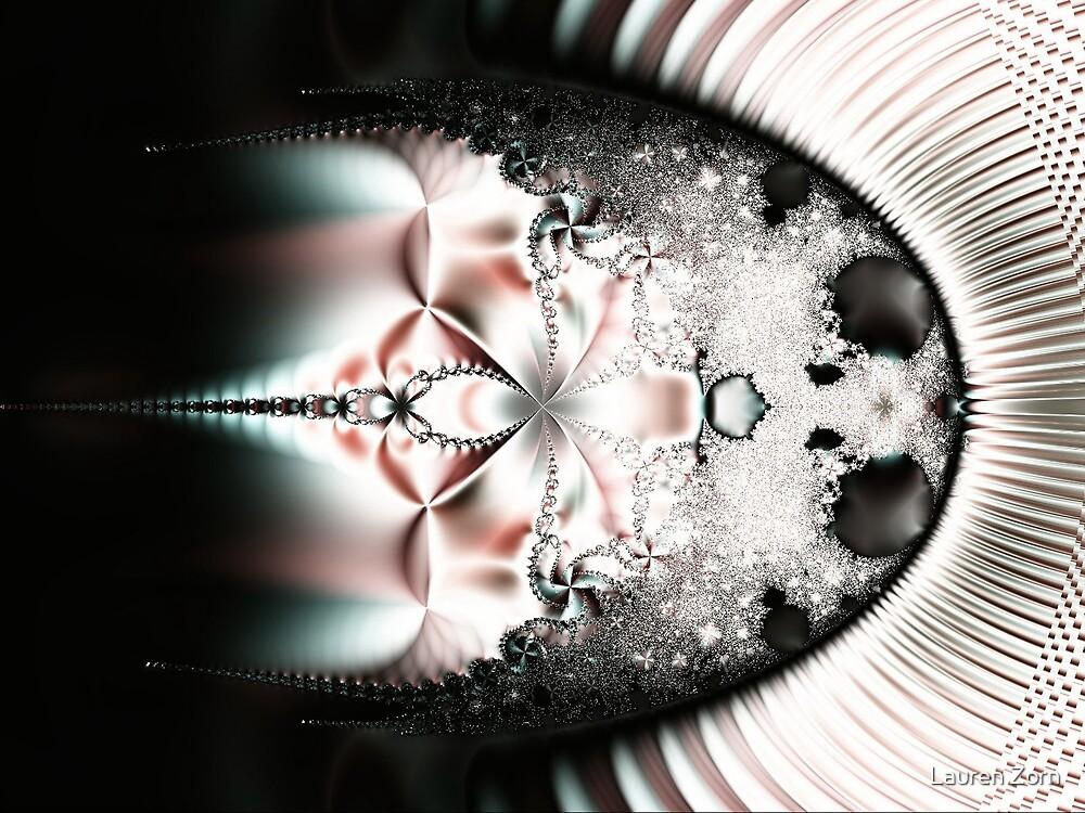 Winter Abstract by Lauren Zorn