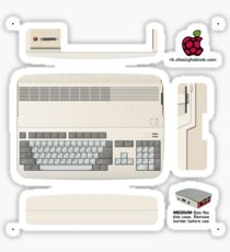 Commodore Amiga 500 Skin for the Official case [Get the MEDIUM size] Sticker