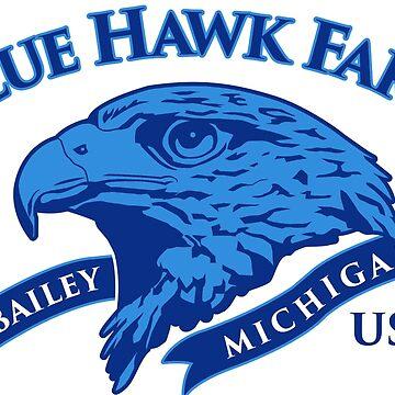 Blue Hawk Farm by seizethejay