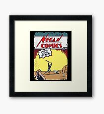 Negan Comics #1 Framed Print