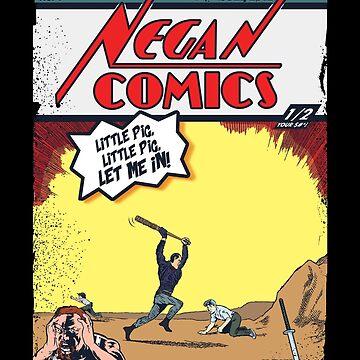 Negan Comics #1 by mannart