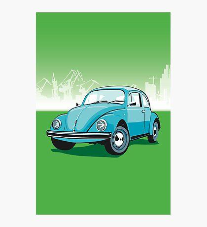 VW Beetle Photographic Print