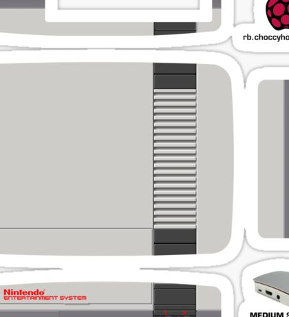 Nintendo Entertainment System (NES) Skin for the Official case Sticker