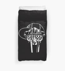 mf doom Duvet Cover