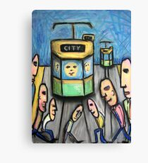 Lunch Hour Canvas Print