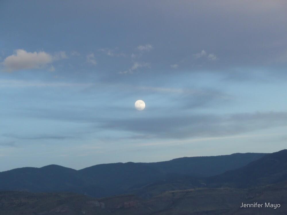 Moon Over Mountains by Jennifer Mayo