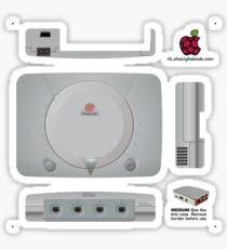 Sega Dreamcast Skin for the Official case [Get the MEDIUM size] Sticker