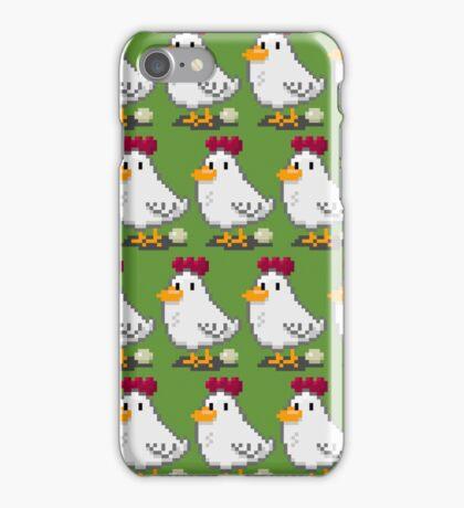Pixel Chickens iPhone Case/Skin
