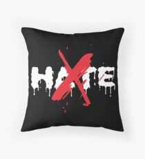 HATE 4minute  Throw Pillow