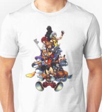 Kingdom Hearts 2 Squad Unisex T-Shirt