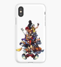 Kingdom Hearts 2 Squad iPhone Case/Skin