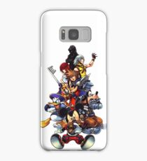 Kingdom Hearts 2 Squad Samsung Galaxy Case/Skin