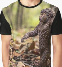 Bigfoot In The Woods Graphic T-Shirt