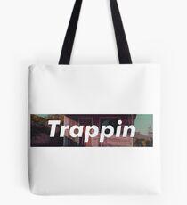 Trappin box logo Tote Bag
