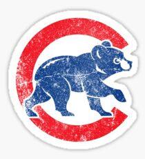Cubs Worn Sticker