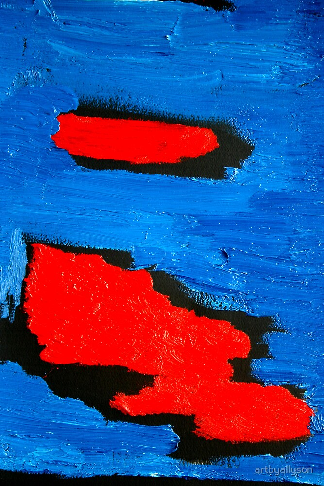 Abstract Oil Colors by Allyson Kitts