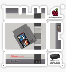 Nintendo Entertainment System  + Mario & Duck Hunt Skin for the Premium case Sticker
