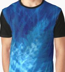 Cyanotype Design: Ferns and Fers version 3 Graphic T-Shirt