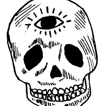 enlightened sugar skull by heinmk