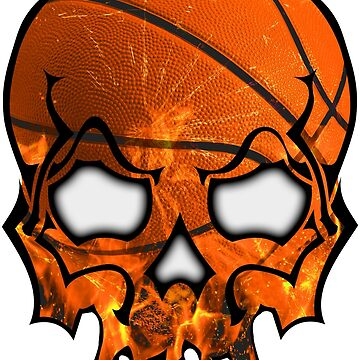 Basket Ball Skull by AngryKitty
