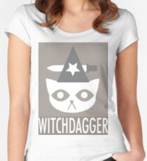 WITCHDAGGER Women's Fitted Scoop T-Shirt
