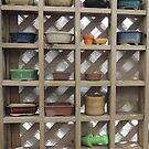 Bonsai pots by Wendy Dyer