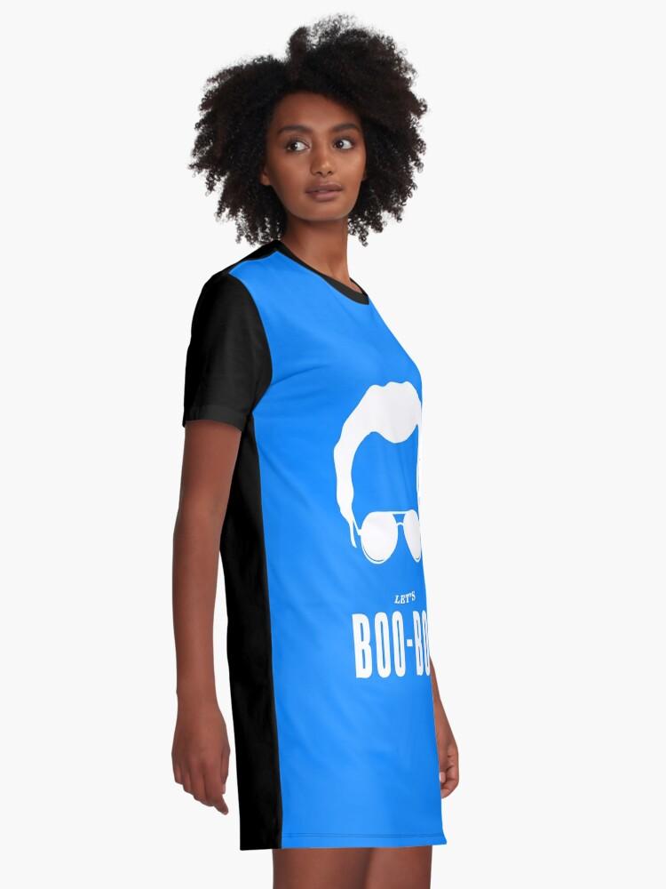 Vista alternativa de Vestido camiseta Deja que Boo Boo