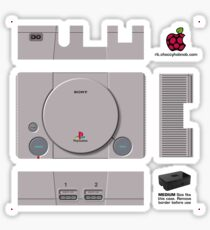 Sony Playstation Skin for the Premium case [Get the MEDIUM size] Sticker
